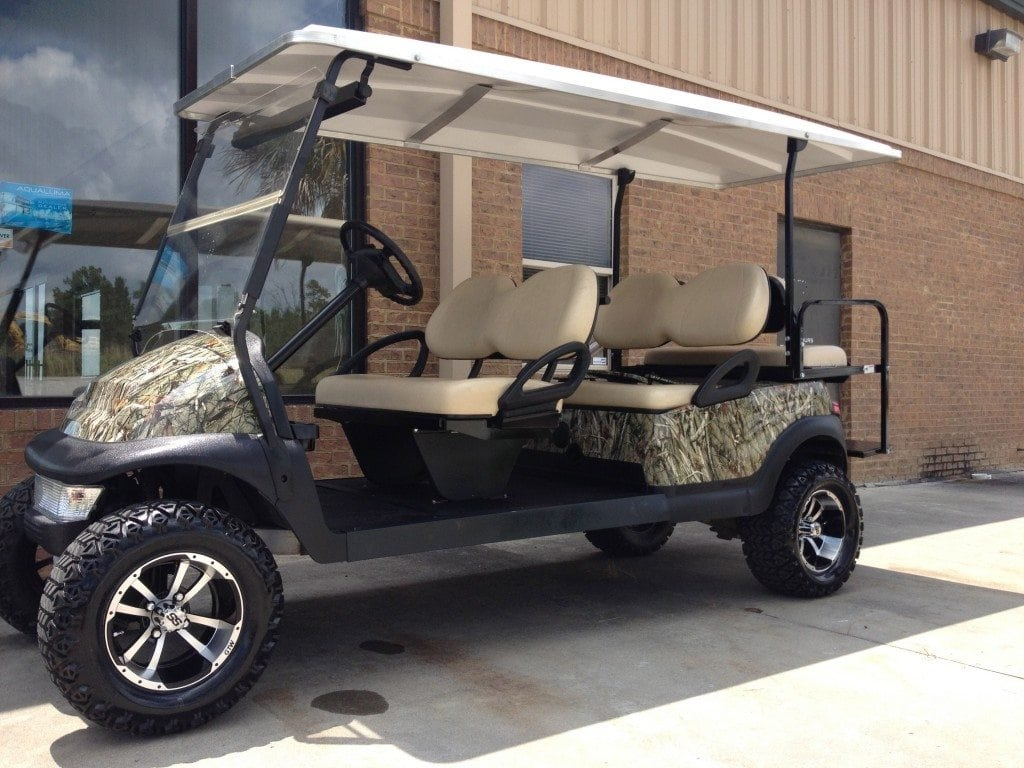 custom golf cart paint jobs