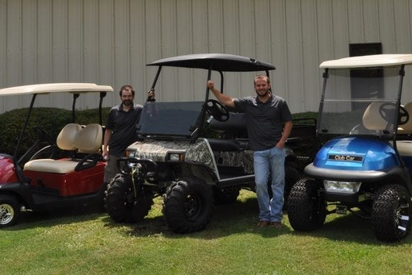 contact Custom Golf Carts Columbia, SC