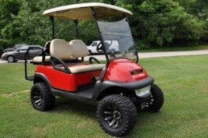 Custom Lifted Golf Carts