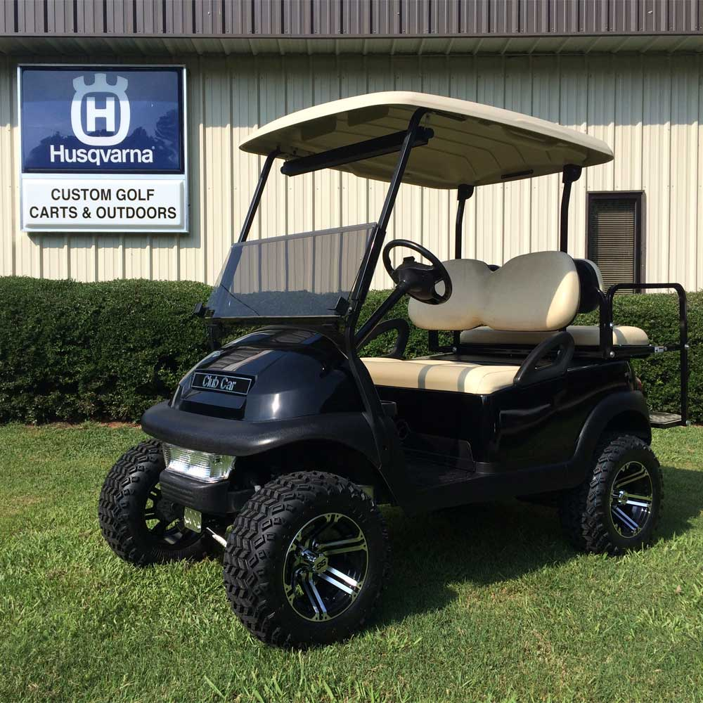 Custom Golf Carts Columbia Sales Services Amp Parts Sportsman Package Cart Trailer