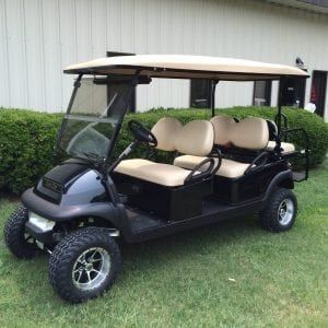 6 passenger club car golf cart