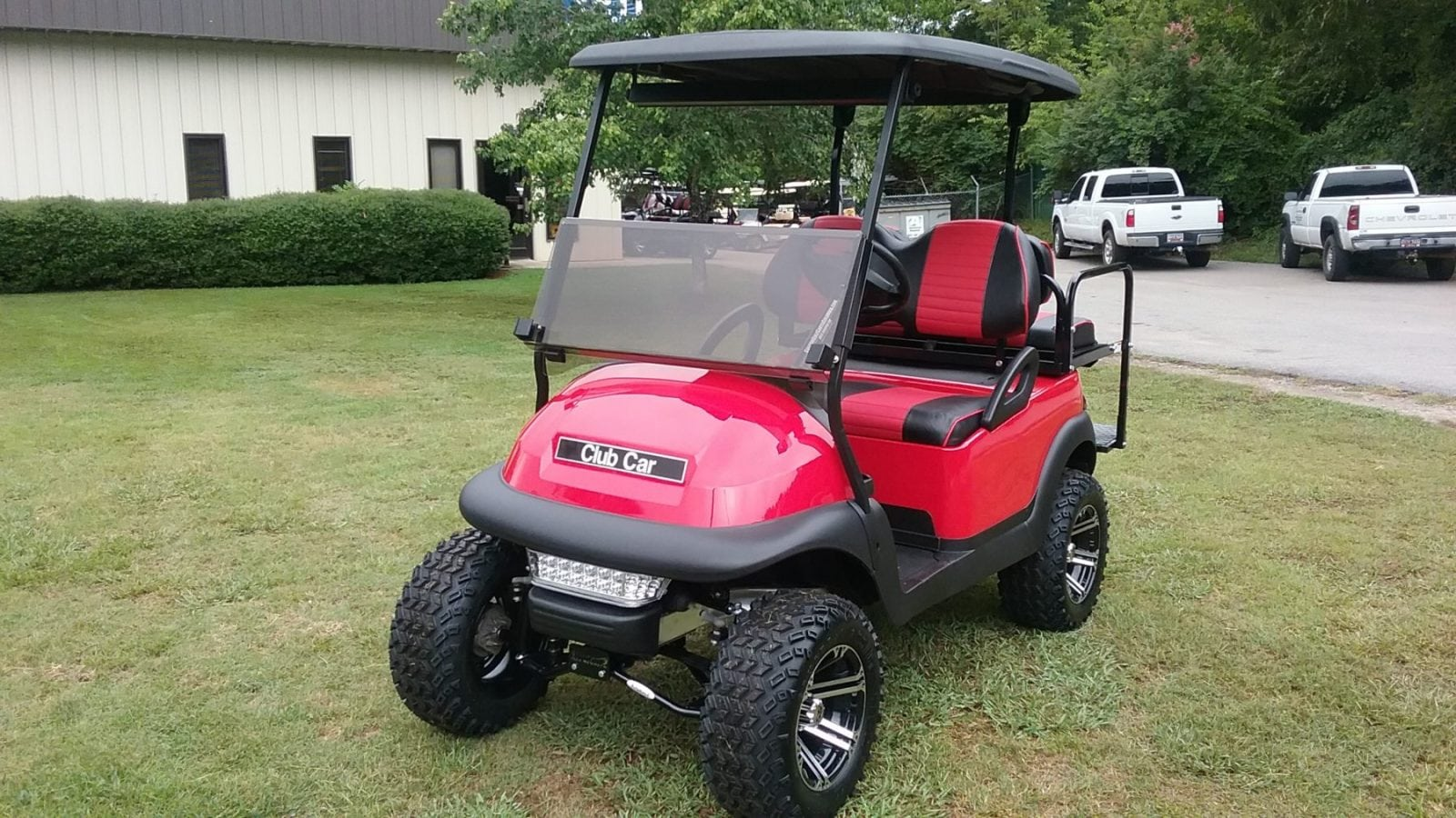 Custom Golf Carts Columbia Sales Services Amp Parts Red