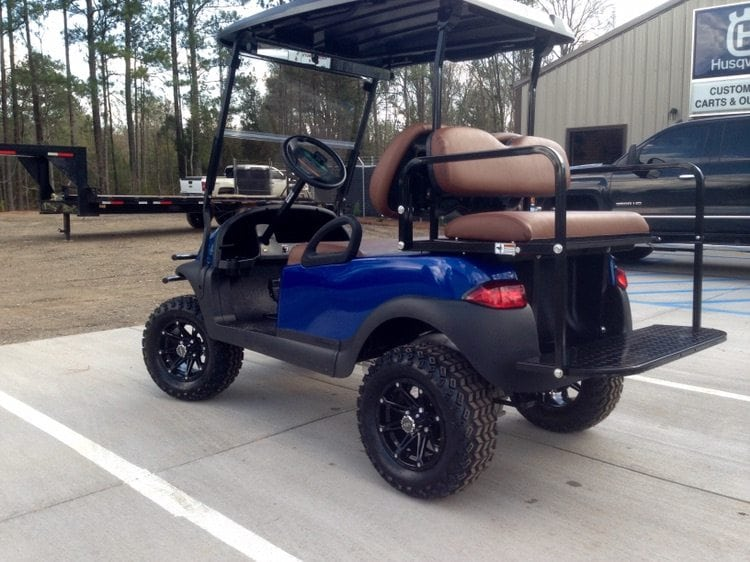 custom golf carts columbia sales services parts blue club car precedent with saddle brown. Black Bedroom Furniture Sets. Home Design Ideas