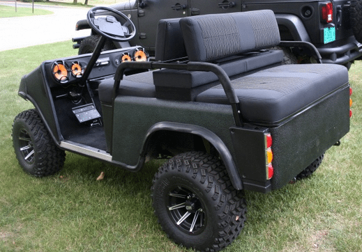 rhino lined golf carts