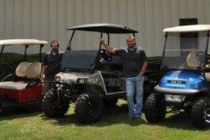 South Carolina golf carts