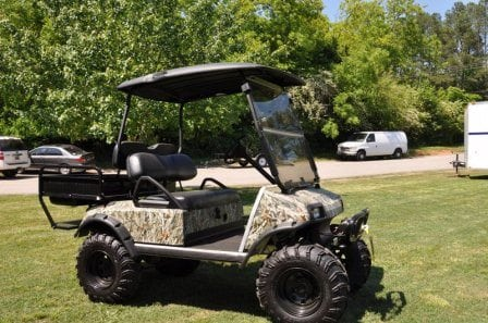 Custom Golf Cart Painting Golf Carts Columbia
