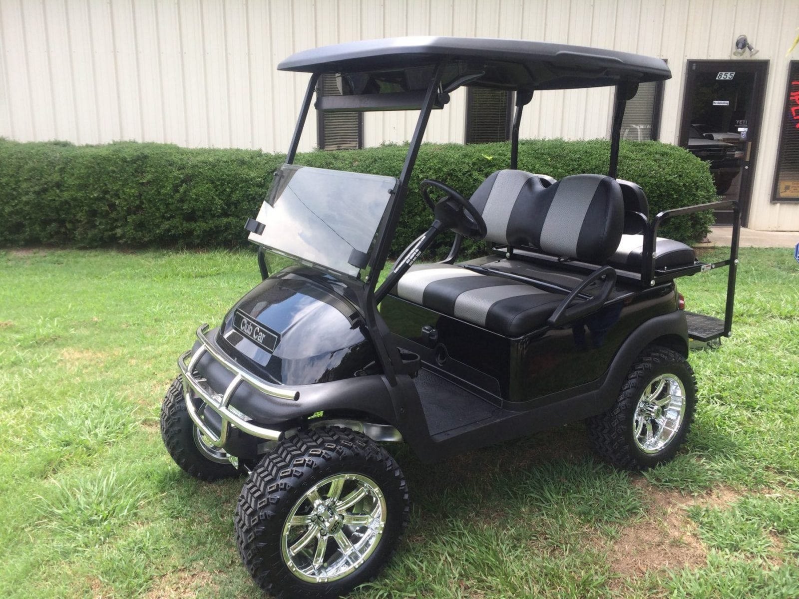 Black Club Car Precedent Loaded Custom Golf Carts Columbia