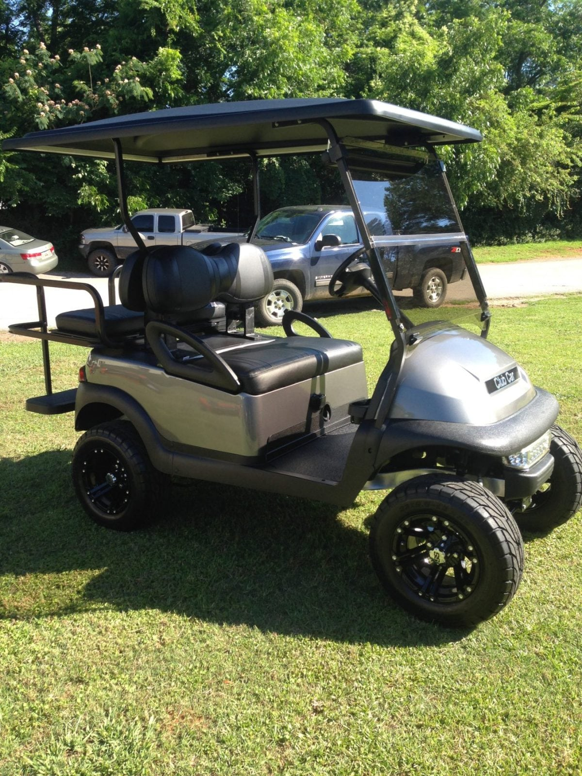 Gun Metal Grey Precedent Custom Golf Carts Columbia