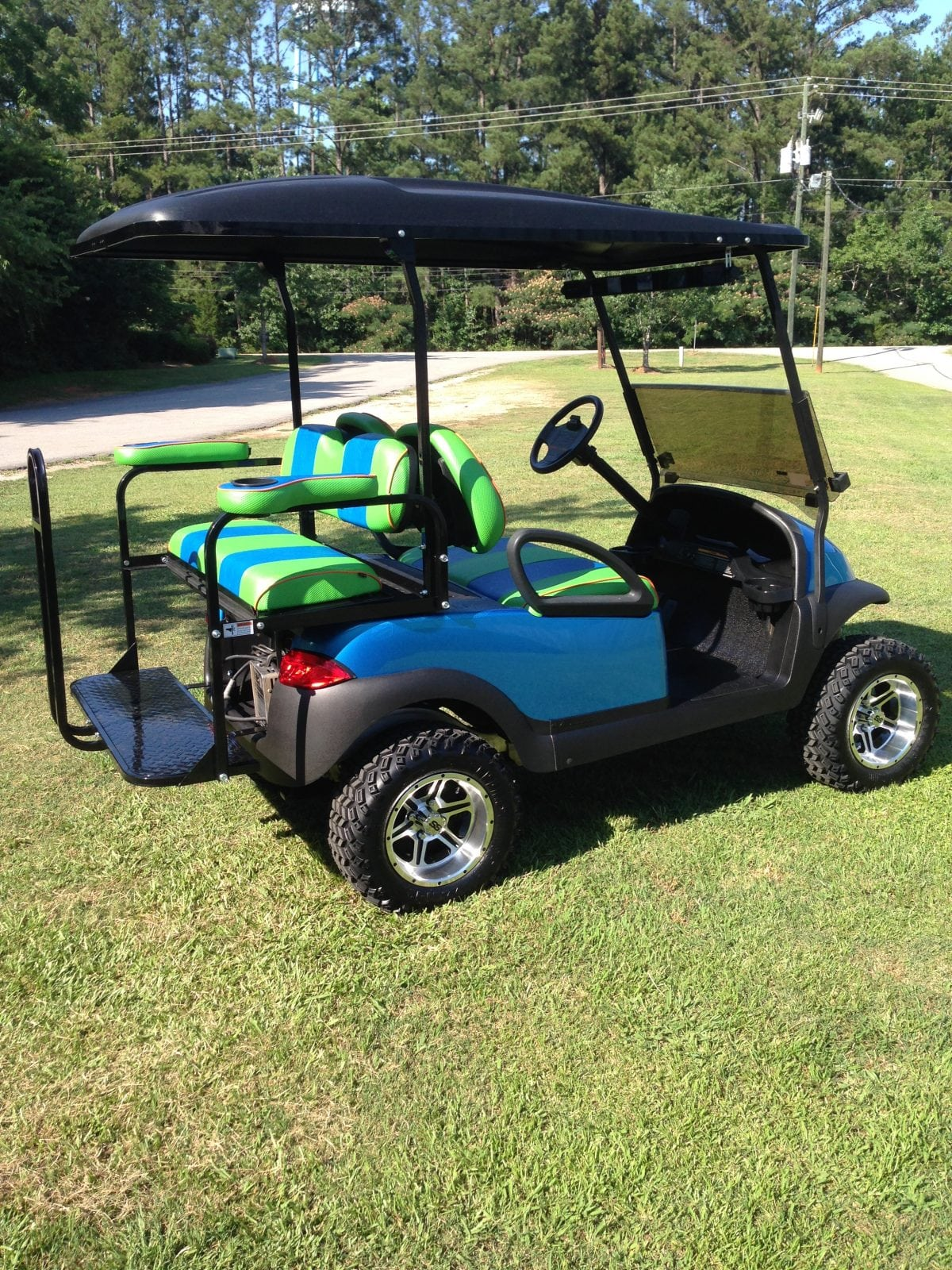Viper Blue Club Car Precedent Custom Golf Carts Columbia