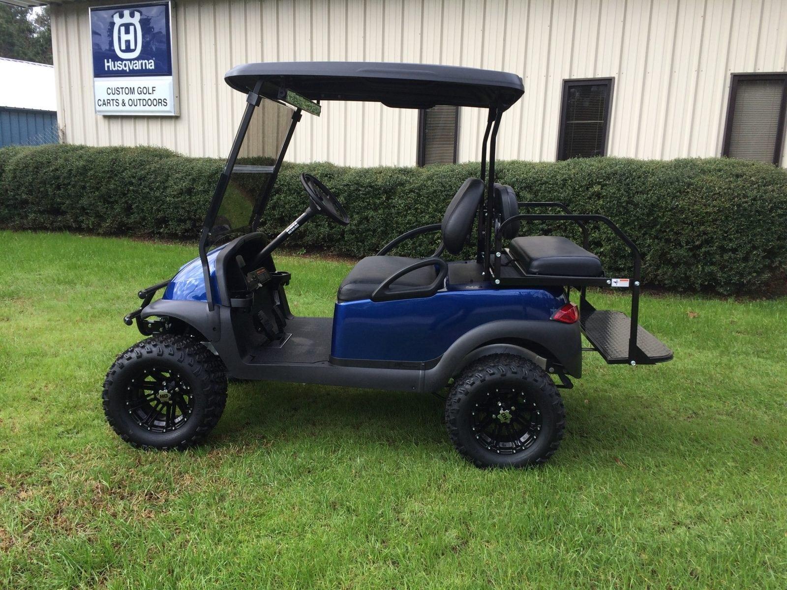 Magnum Blue Club Car Precedent - Custom Golf Carts Columbia   Sales, Services & Parts