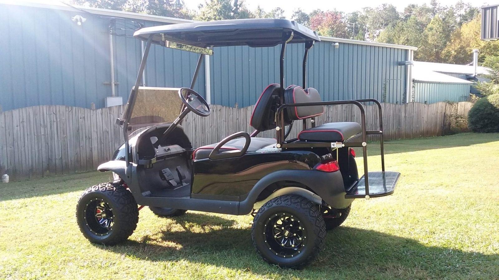 custom golf carts columbia sales services parts black club car precedent custom lift kit. Black Bedroom Furniture Sets. Home Design Ideas