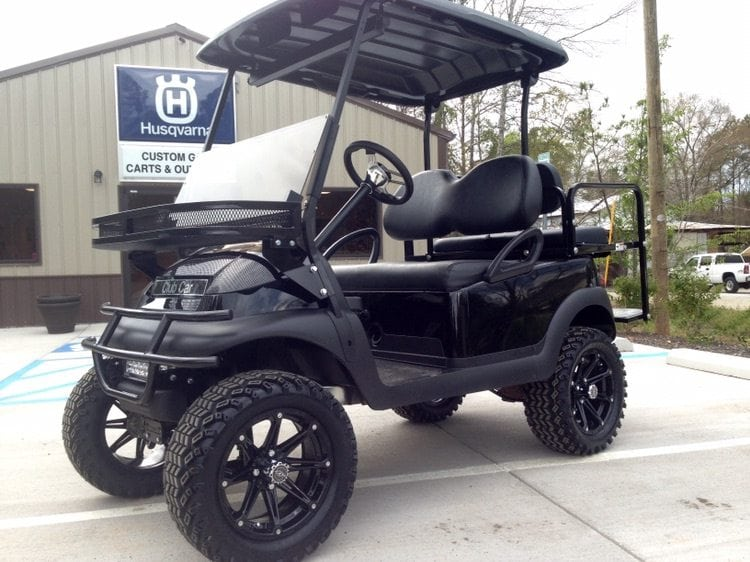 Black Club Car Precedent With Options Custom Golf Carts