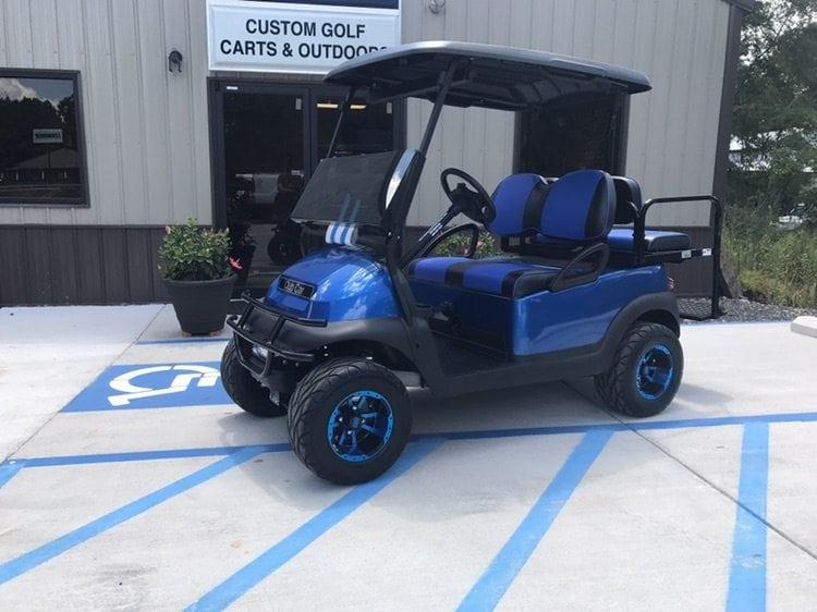 custom golf carts columbia sales services parts blue club car precedent 3in lift custom. Black Bedroom Furniture Sets. Home Design Ideas