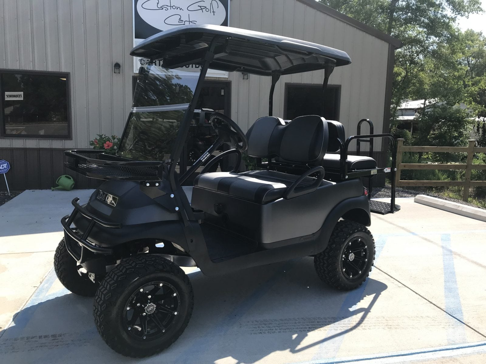 Matte Grey Precedent Custom Golf Carts Columbia Sales Services