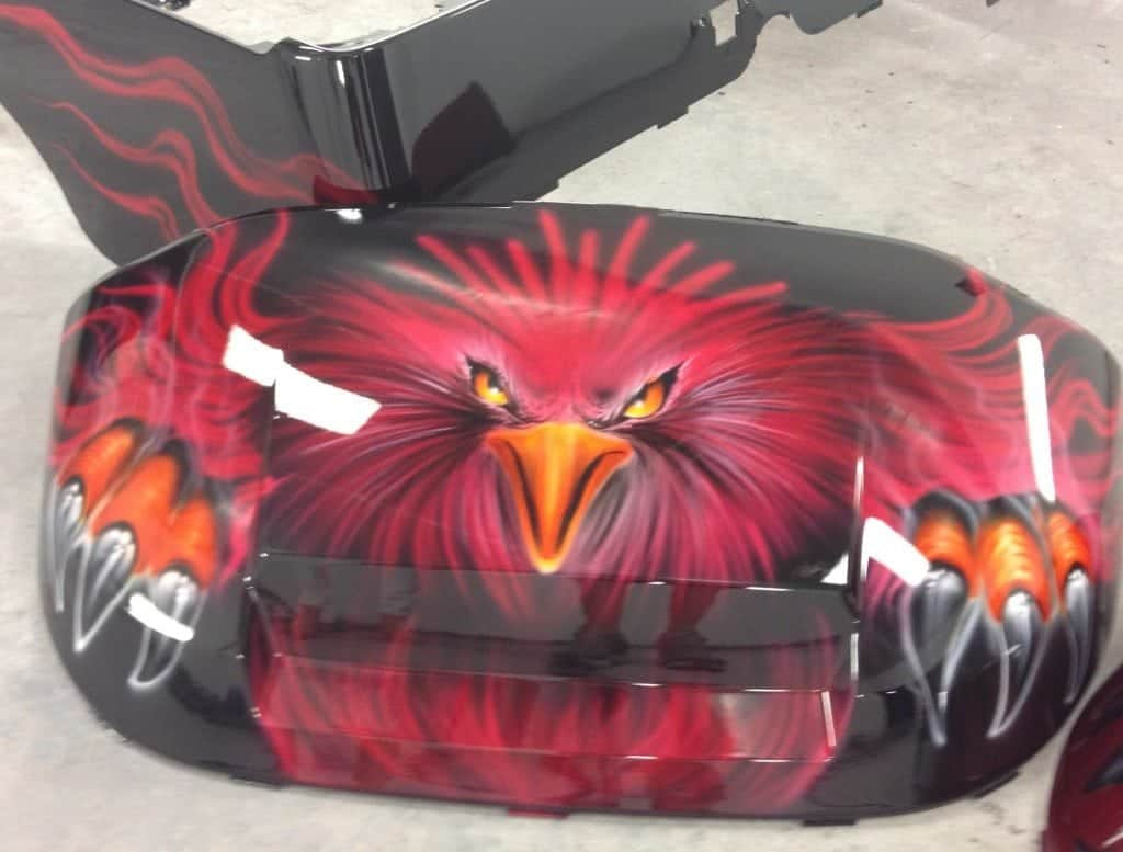Gamecocks-Airbrush-Golf-Cart-1024x777