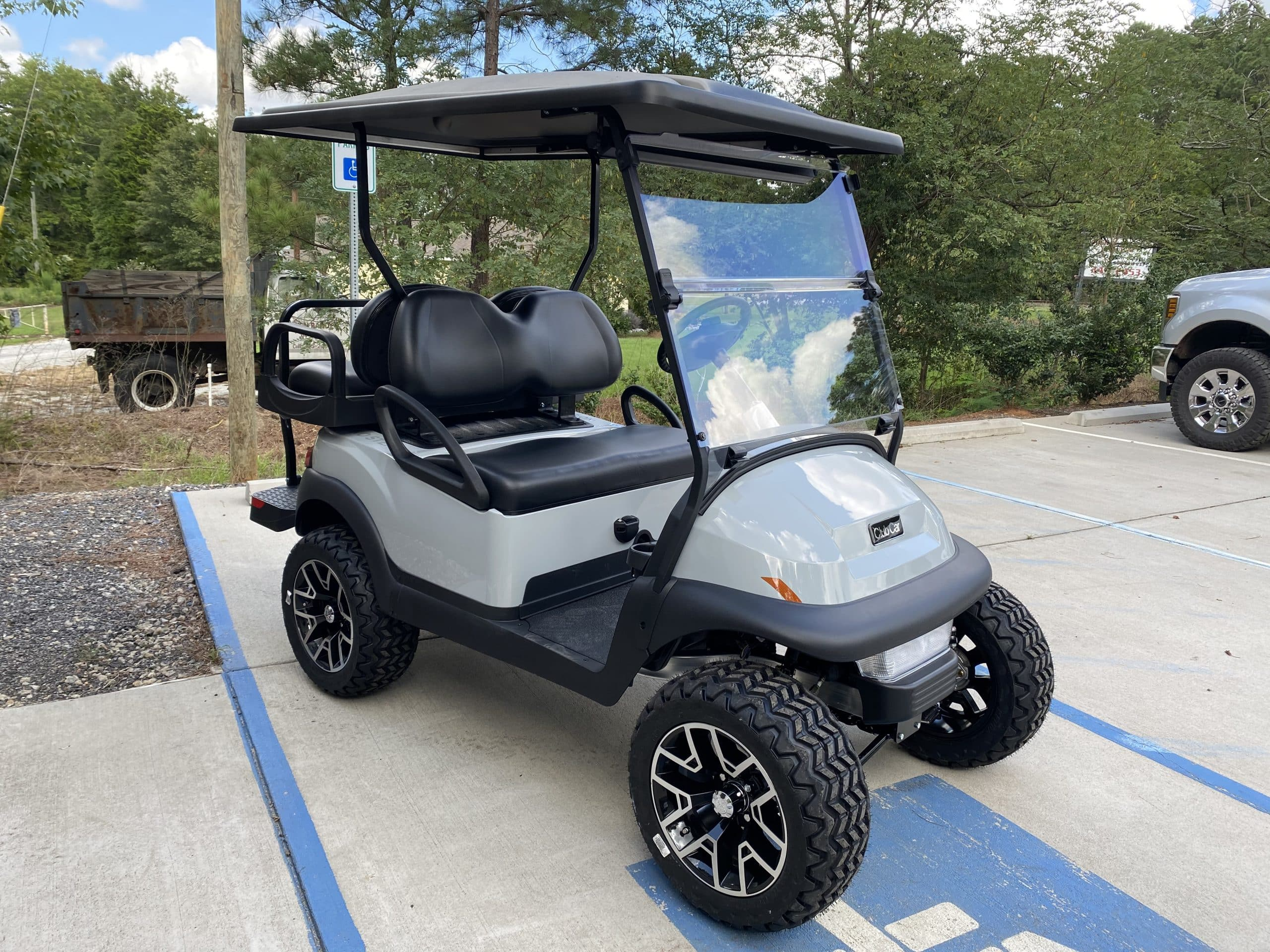 Club Car Villager 2021 Grey - Custom Golf Carts Columbia ...